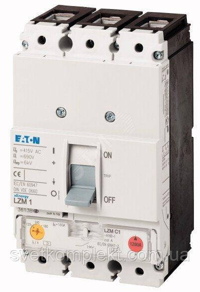 Выключатель автоматический LZMC1-A160-I (160А 36кА) Eaton (111897)