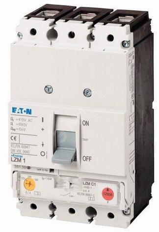 Вимикач автоматичний LZMC1-A160-I (160А 36кА) Eaton (111897), фото 2