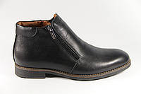 Мужские ботинки из натуральной кожи TH312BL