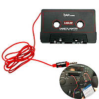 Кассета адаптер, модулятор для автомагнитол переходник на Mp3