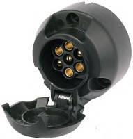 Розетка фаркопа 7-контактная (мама)