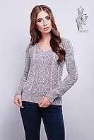 Красивые женские свитера Конти-4 из шерстяной нити
