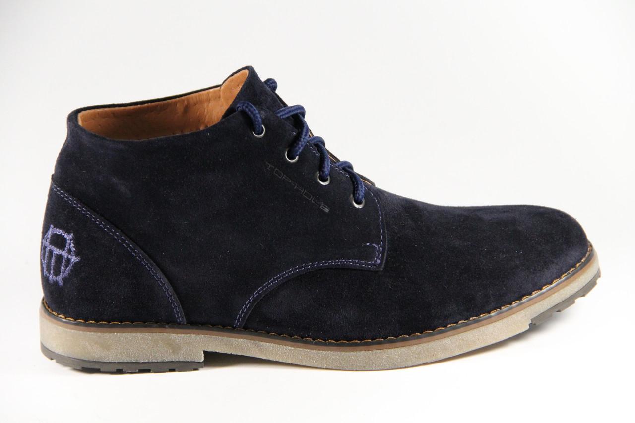 Мужские ботинки из натуральной кожи TH333BLV