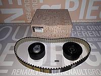 Комплект натяжитель + ролик + ремень ГРМ Renault Trafic 03->14 2.5dci Renault Франция 7701477380