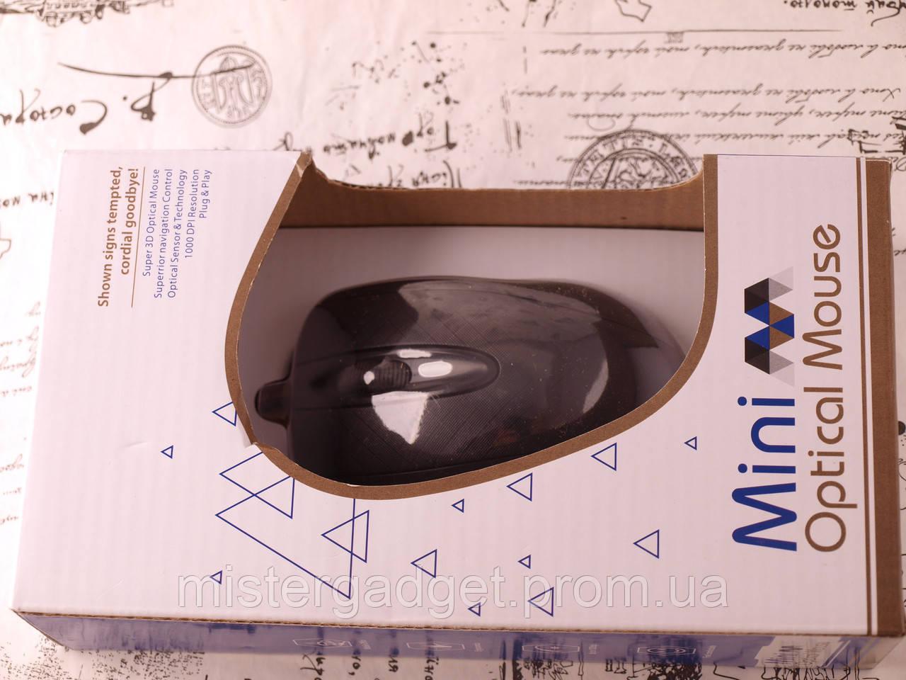 Мышка проводная SX-705 Чёрный 1000dpi