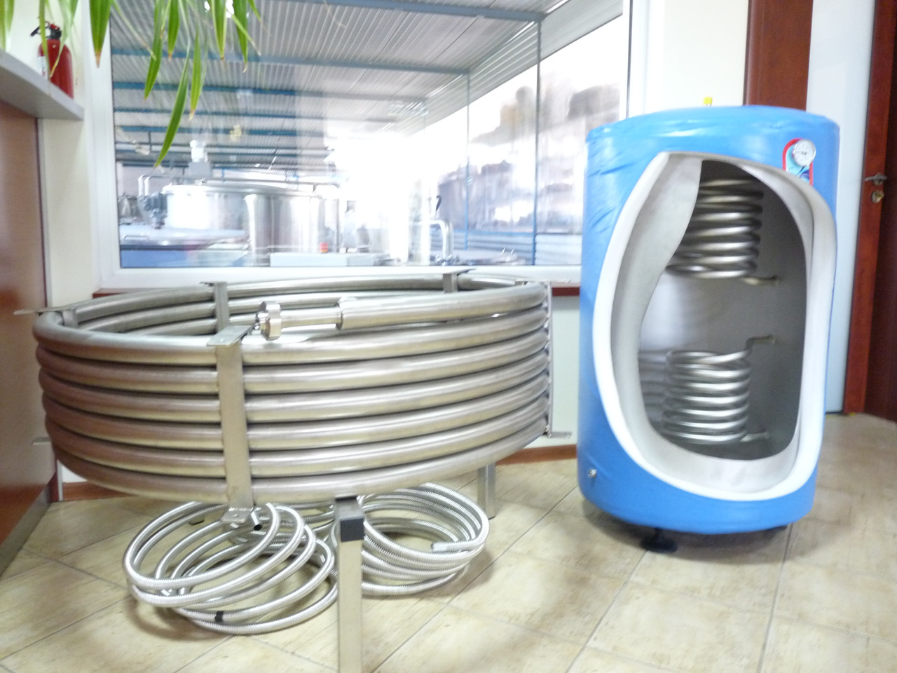 Теплообменники (рекуператоры) от 60 до 2000 л.