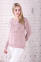 Красивые женские свитера Шарм-4 из шерстяной нити
