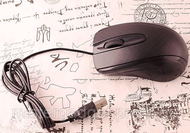 Мышка проводная SX-705 Чёрный 1000dpi, фото 2