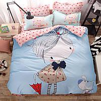 Комплект постельного белья Girl (полуторный) Berni, фото 1