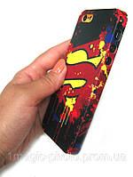 Чехол для iPhone 5/5s знак Супермена