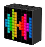 Портативная акустика Divoom Timebox mini Black