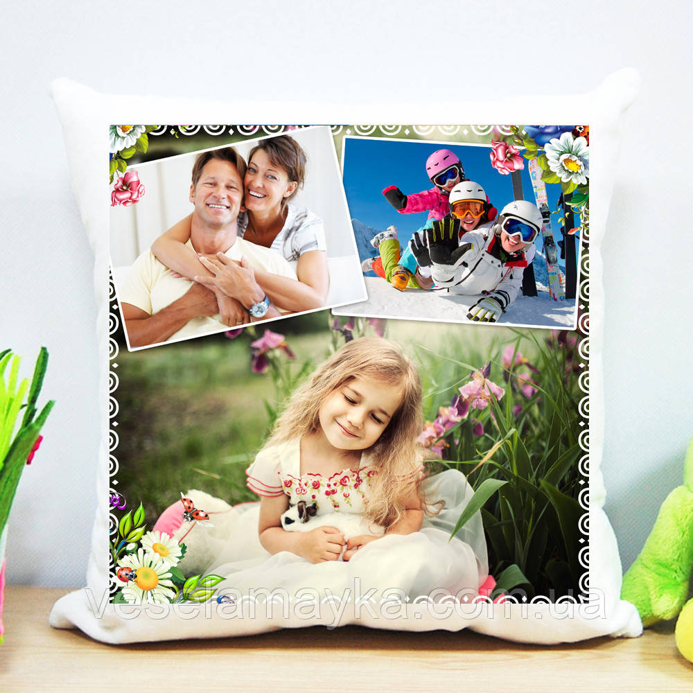 Где напечатать фото на подушке рязань