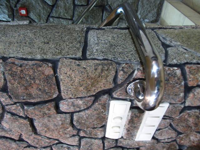 Работа по проектированию, изготовлению и установке перил из нержавеющей стали. 3