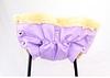 Муфта к санкам 091 (1) на овчине - цвет сиреневый