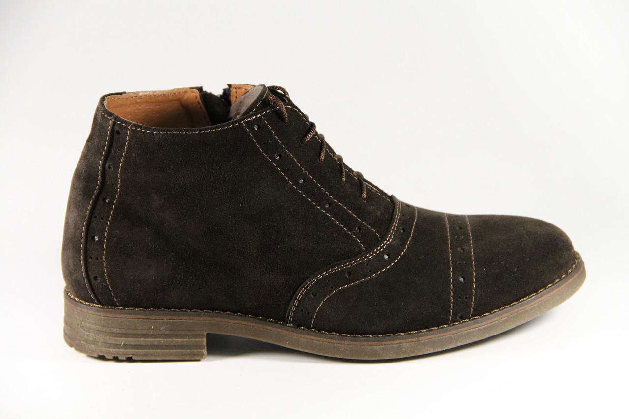 Мужские ботинки из натуральной кожи TH359BRV