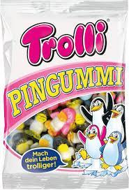 Жевательные конфеты Trolli пингвины 175g