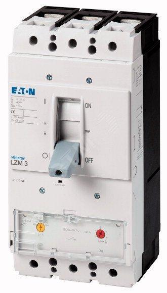 Выключатель автоматический LZMN3-AE630-I (630А 50кА) Eaton (111969)