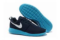 Nike Roshe Run темно синие