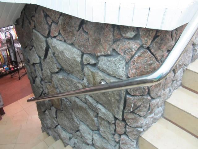 Работа по проектированию, изготовлению и установке перил из нержавеющей стали. 12