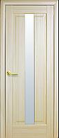 Межкомнатные двери Новый Стиль Премьера Стекло сатин Ясень