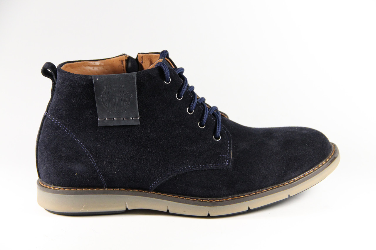 Мужские ботинки из натуральной кожи TH360BLV