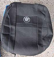 Автомобильные чехлы на сидения PREMIUM BMW 5 Е39 1996-03г. з/сп цельная;подлок;5подгол;п/подлок;airbag