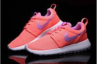 Nike Roshe Run Orange/Purple (реплика)