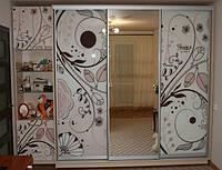 Двери  фасады для шкафов купе с рисунками фотопечатью