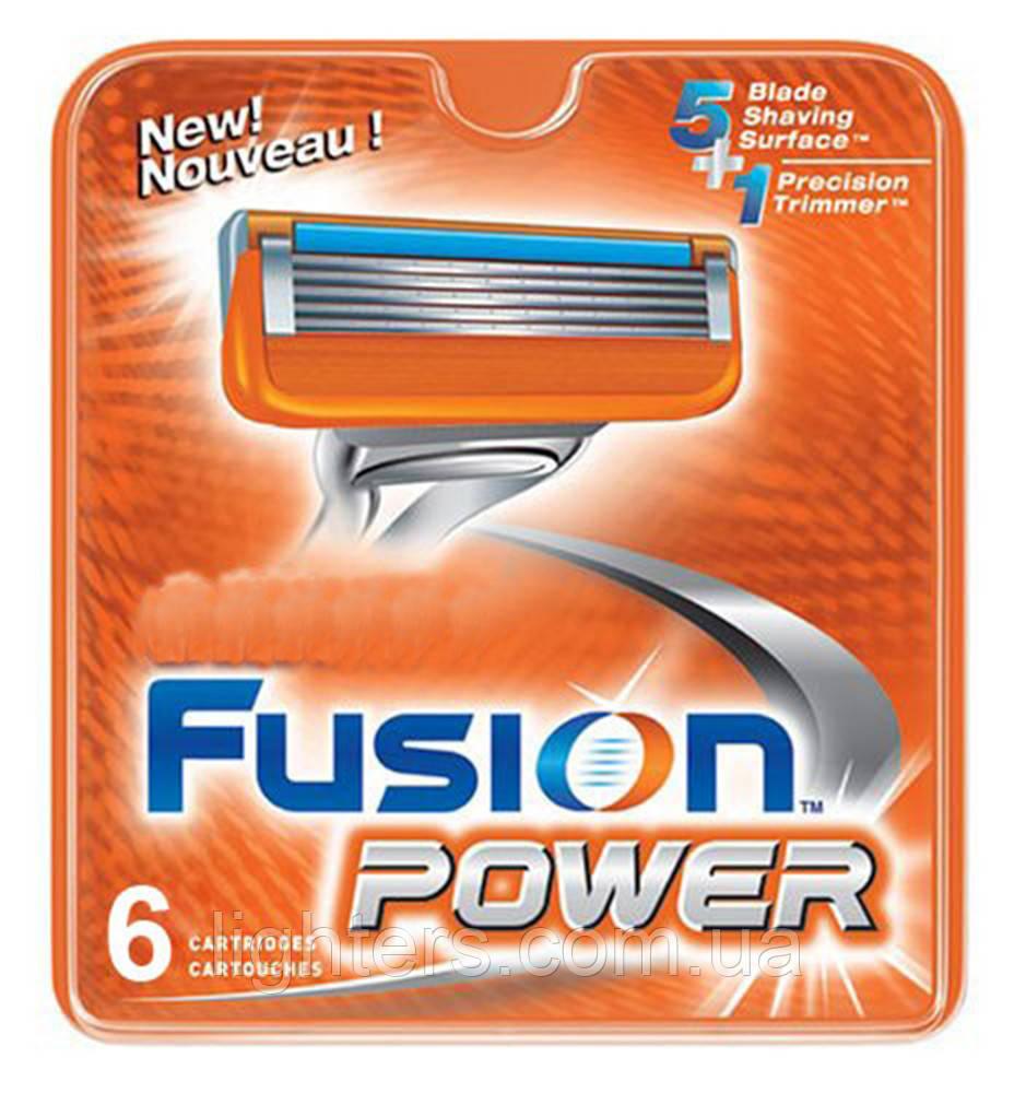 Сменные кассеты для бритья Fusion Power (6 шт.) KG17107101 - Lighters в Одессе