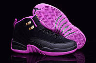 Кросівки Nike Air Jordan black violet