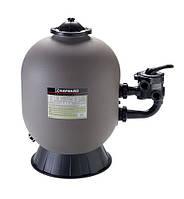 Песочный фильтр Hayward PRO с боковым клапаном. 600 мм, 150 кг песка. Фильтровальный бак. Фильтр песчаный.