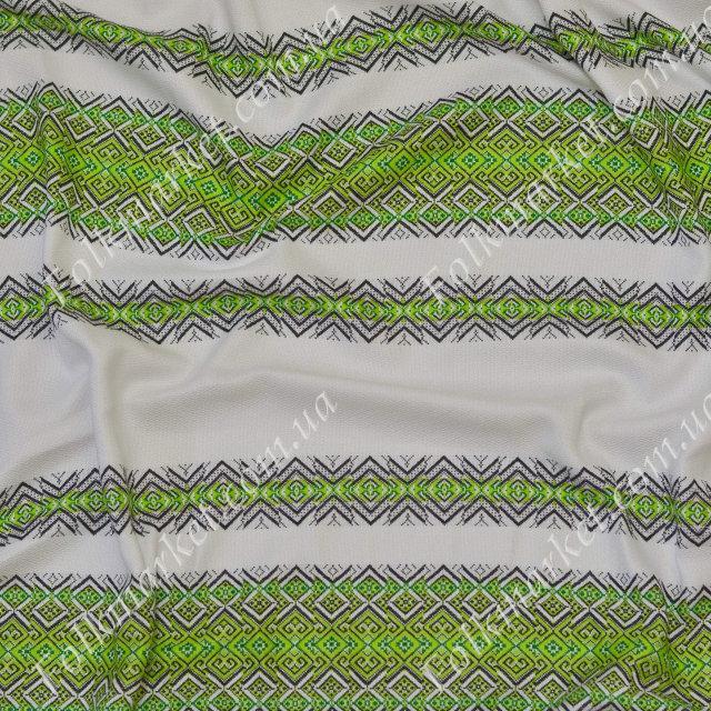 Ткань с украинской вышивкой Говерла ТДК-55 1/3