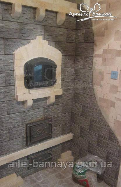 Дверца хлебной печи