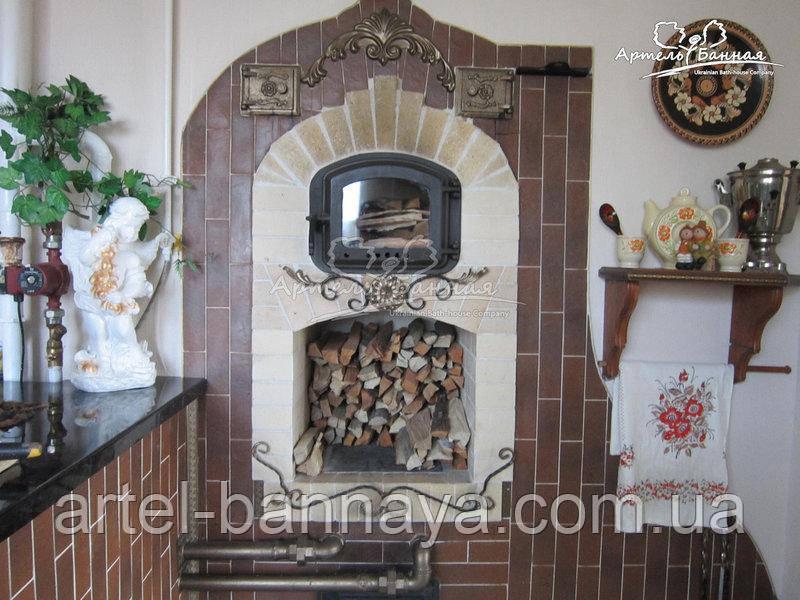 Огнеупорные дверцы для печей каминов