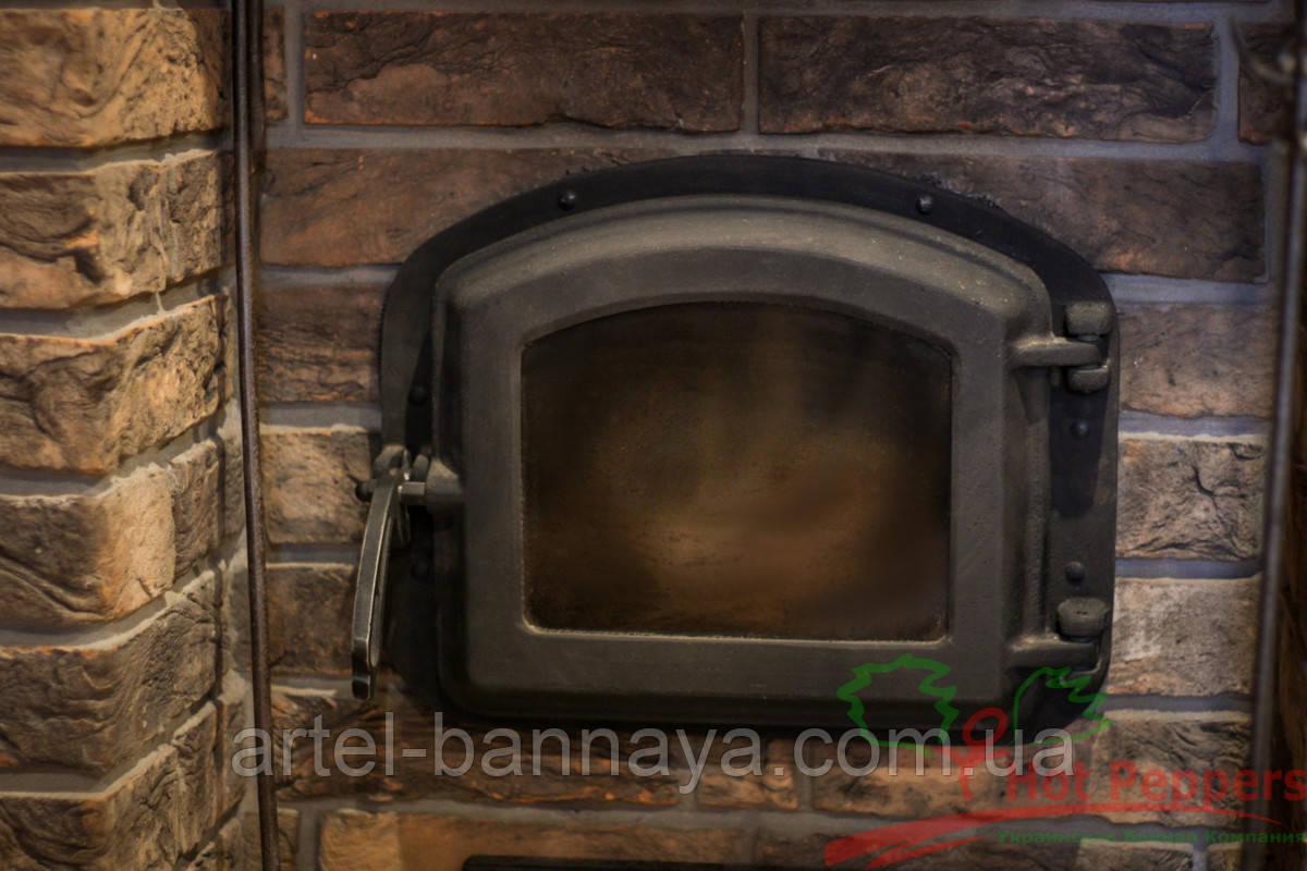 Дверцята для печі 420х335  мм