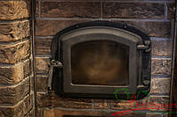 Дверца духовки для печи 420х335  мм , фото 1
