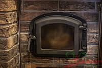 Дверца духовки для печи 420х335  мм