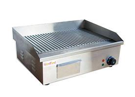 Поверхность жарочная электрическая GoodFood EG55R ребристая