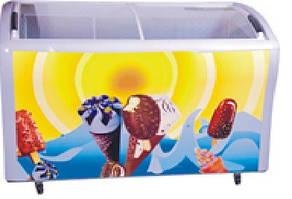 Морозильний лар EWT INOX CF378SС