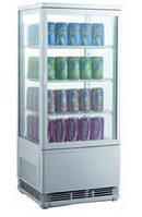Шкаф-витрина холодильная EWT INOX RT68L