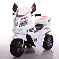 Детский мотоцикл M 3577-1 белый