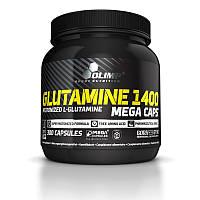 Глютамін Olimp Labs L-Glutamine Mega Caps (300 кап) (103140) Фірмовий товар!