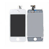 LCD+touch+frame Iphone 4 White (original LCD)