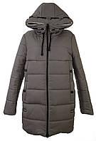 Куртка женская зимняя цвет бежевый