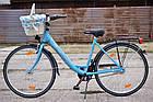 Велосипед Biria City Flair 26 Nexus 7 Blau Німеччина, фото 2