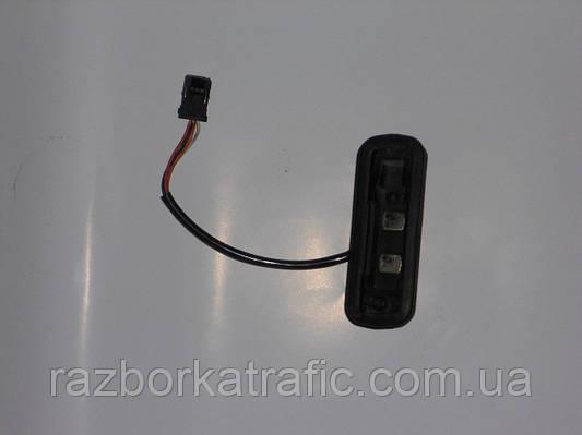 Контакты здвижной двери, 2 контакта в кузов на Renault Trafic, Opel Vivaro, Nissan Primastar