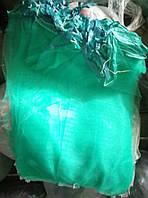 Сетка овощная (капрон) 5 кг с ячейкой 2 мм (28*40), с завязкой 100 шт зеленая