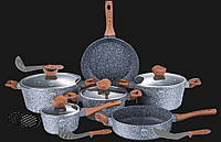 Набор посуды с каменным покрытием Berlinger Haus ВН 1213
