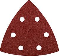 Шлифовальные треугольники KWB 96 мм, 20 шт. (зернистость 40), фото 1