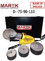 Паяльник для пластиковых труб  Marek 75-90-110